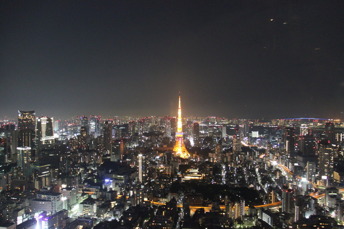 View of Tokyo from the Roppongi Hills 'Club Fifty-one'